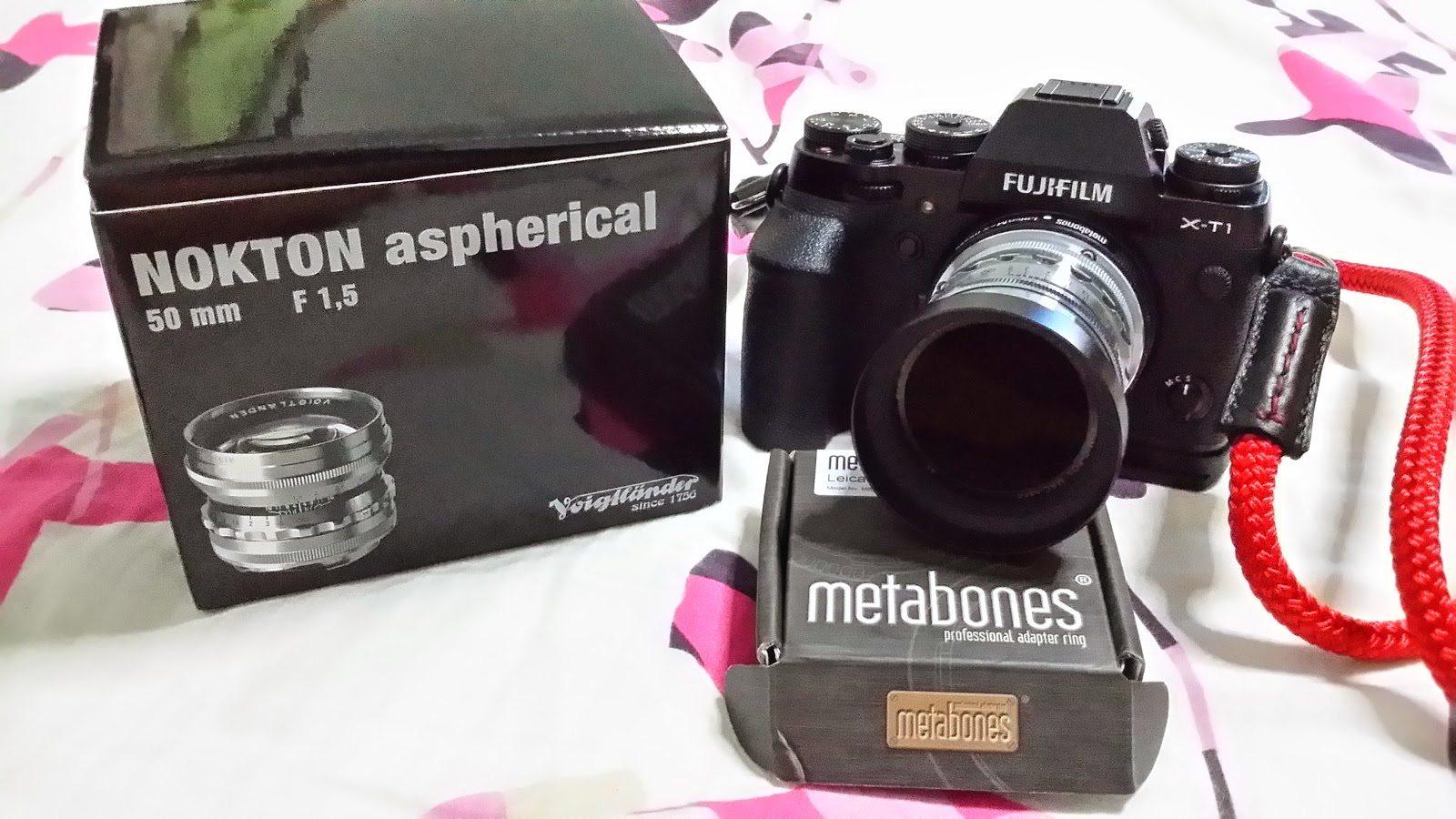 Fujifilm Xt1 metabones voigtlander