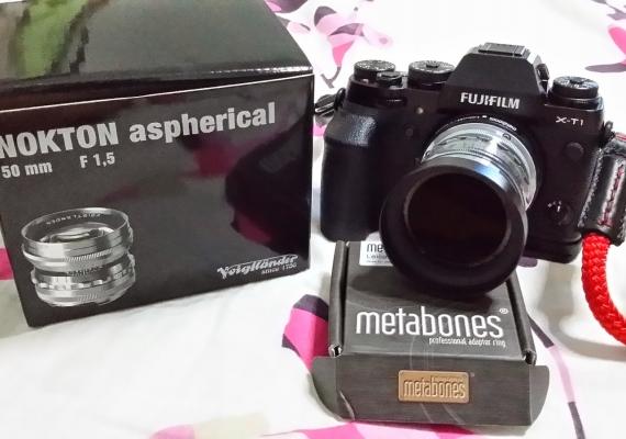Voigtlander 50mm F1.5 With Fujifilm X-T1 Via Metabones Adapter