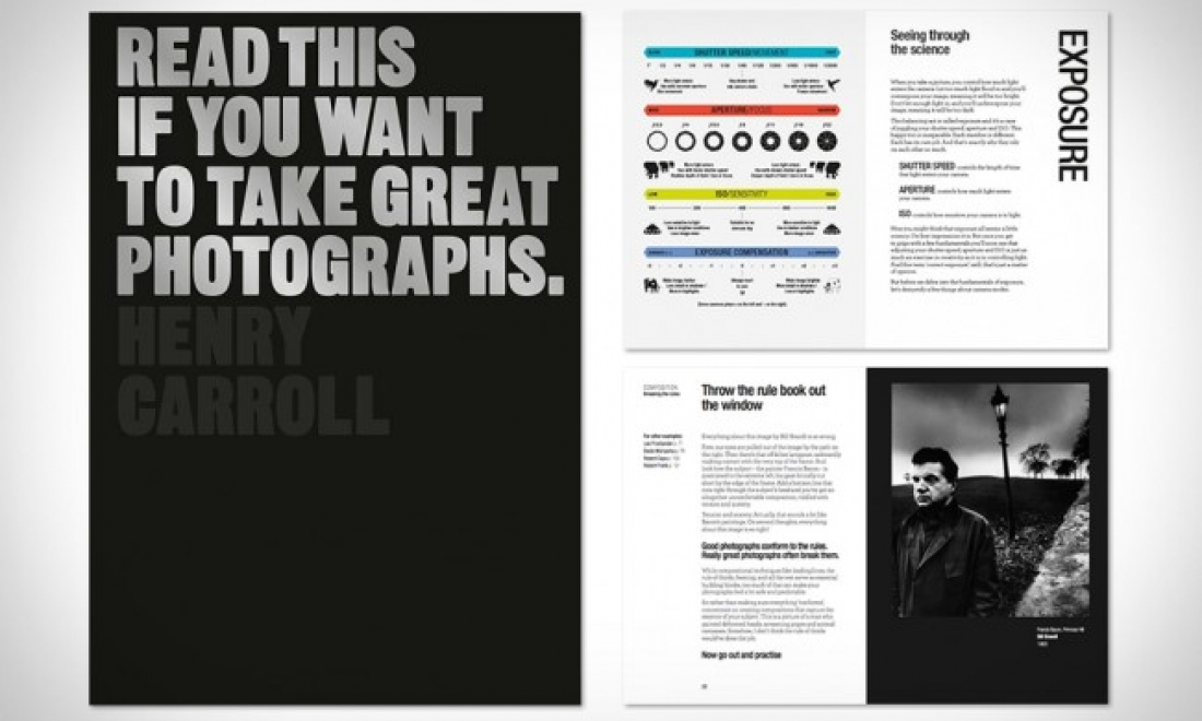 """For a better learning experience. A Complimentary copy of """"Read this if you want to take great photographs book"""" by Henry Carroll for our particpants"""